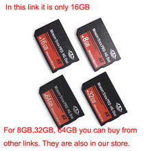 Real Capacity MS HG 16GB Memory Stick Pro Duo Memory Cards for sony psp phone tablet camera