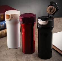350ml High Quality Stainless Steel Thermos Mugs Car Vacuum Flasks Anti-Dust Coffee Tea Milk Cups Thermocup Thermomug