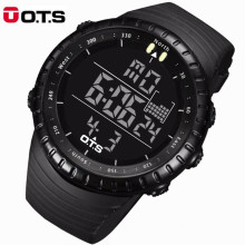 OTS Fashion Men Watches Top Brand Luxury Digital Watch Men LED Sports Military Watches Outdoor Waterproof relogio masculino 7005