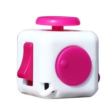 9 Colors Fidget Cube Anti Irritability Toy Magic Cobe Funny Christmas Gift Original Fidget Cube Desk Toy