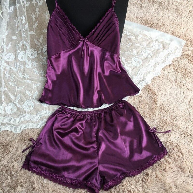 women silk pajamas set (6)