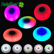 4pc LED Flash Roller Wheel 90A 72mm 76mm 80mm PU Inline Roller Skate Wheel Luminous Slalom Roller Sliding Skates Blade Wheel FSK(China)