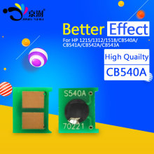 5set CB540A CB541A CB542A CB543A 1215 reset chip for HP Color laserJet CP1215 CP1518 CM1312nfi CM1312 CP1517 CP1519 printer(China)