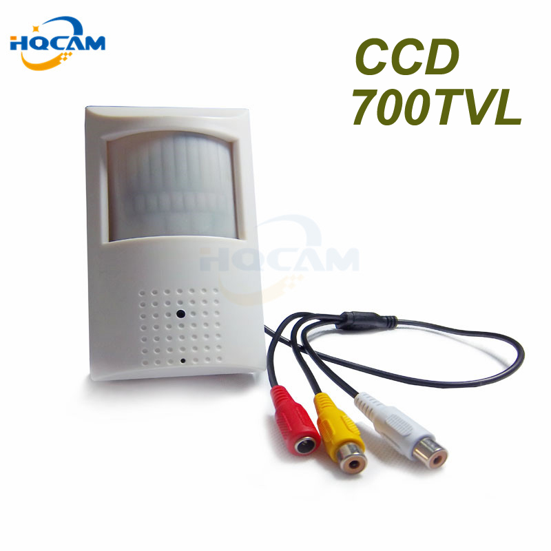 HQCAM 1/3Sony CCD 960H 700tvl Security Indoor CCTV PIR camera mini camera mini ccd 48pcs 940nm led IR Night vision 4140+810\811<br>