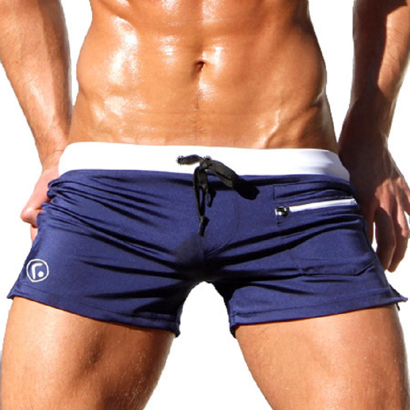 Aliexpress Com Men Swimming Trunks Swimwear Male Swimsuit Beach Swim Shorts Bathing Boxer Y 2017 Beachwear Low Waist From Reliable