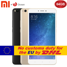 Original Xiaomi Mi Max 2 4GB RAM 64GB 6.44 inch Display Snapdragon 625 Octa Core Mobile Phone Max2 12.0MP 4K Camera IMX386 5300mAh - Global Store store