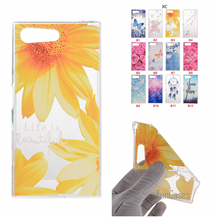 Cartoon Flower Butterfly Bear Tree Painted Back Cover Silicon Gel Soft TPU Mobile Phone Case For Sony Xperia X COMPACT X Mini ?;