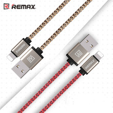 Remax iOS9 Certificated 8pin USB Charging Data Cable For iPhone 6 7 for iPad mini Air 2 Transmit Line  free shipping