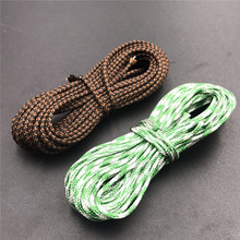 4M/lot Carp fishing lead core brown color 40LB fishing line Chod Rig& hair Rig Braided woven coated Leader Carp Line accessories(China)