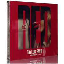 Free Shipping: taylor swift album red 2CD sealed(China)