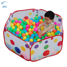 XFC Children Kids Portable Folding Toy Tent Pool Ball Games House Folding Baby Tent Outdoor Indoor Baby Oceans Balls Pool Gift