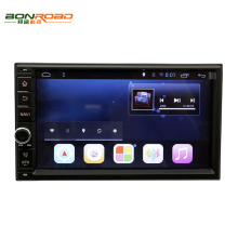 Android 6.0 Quad Core1.6G*4 2 Din Universal Car DVD Player 1024*600 Resolution GPS Navigation  with Wifi Mirror Link 1080P video