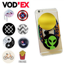 Vodex Colorful Vintage Pattern Air Sac Phone Holder POP Expanding Stand Grip  Mount for iPhone 7 Tablets For Xiaomi Redmi 3 Pro