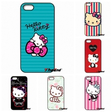 For Sony Xperia X XA XZ M2 M4 M5 C3 C4 C5 T3 E4 E5 Z Z1 Z2 Z3 Z5 Compact Cute Fashion Hello Kitty Hot Korea Mobile Phone Case(China)
