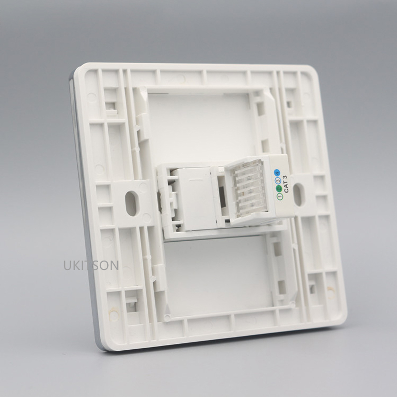 One Socket RJ11 Wall Panel pic 4