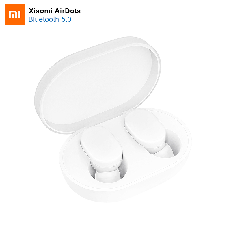 100% Original Xiaomi AirDots Bluetooth Earphone Youth Version Stereo MI Mini Wireless Bluetooth 5.0 Headset With Mic Earbuds(China)
