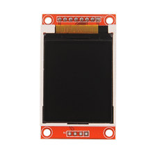 "WQScosea Q8S-23 128*160 1.8"" 1.8 Inch SPI Serial Color TFT LCD Display ST7735S module + Red PCB Adapter Board 51/AVR/STM32/ARM"