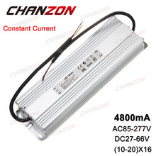 Constant Current LED Driver 10-20x16 4800mA 27-66V 160W 200W 300W IP67 Waterproof Lamp Light Power Supply Lighting Transformer