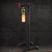 Table Lamps Metal Edison Vintage Table Desk Light for Living Study Room Bedroon In Industrial Loft Style Lamparas Abajur De Mesa