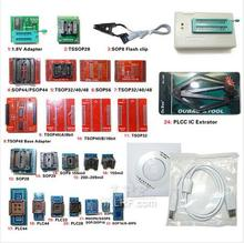 TL866CS USB BIOS Extractor Clip V6.5 TL866CS MiniPro Universal Programmer 24 Adapters IC Clip TL866 High Speed Flash EPROM