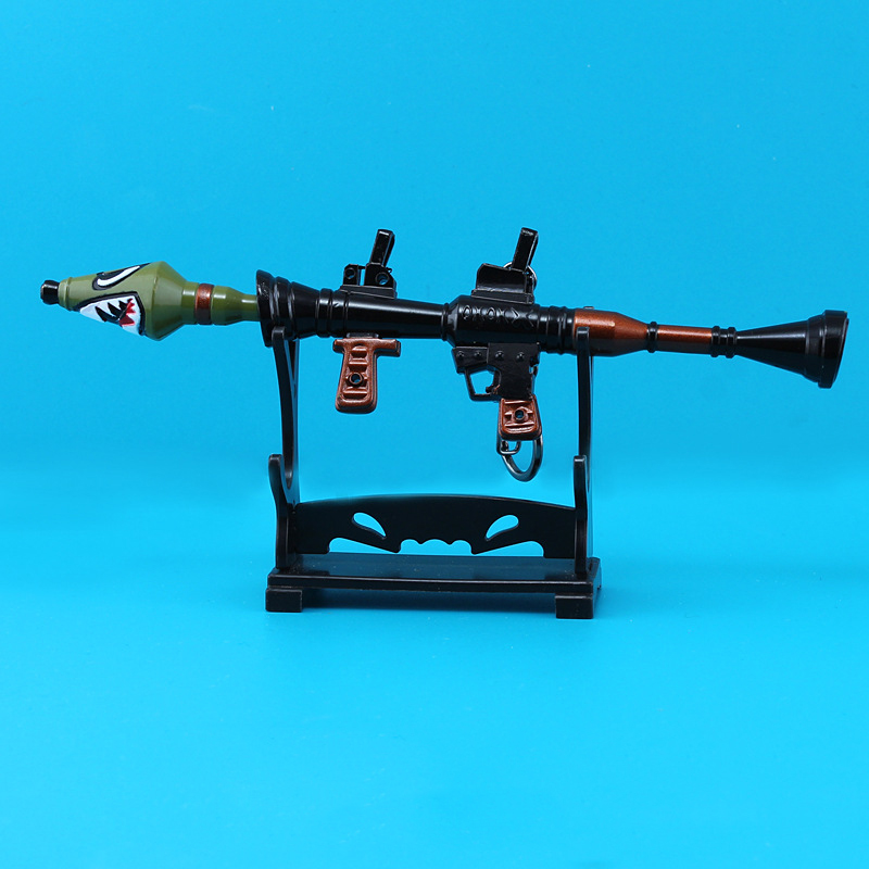 Grosshandel 17cm Fortnite Schlacht Royale Zubehor Waffen Shark Cannon