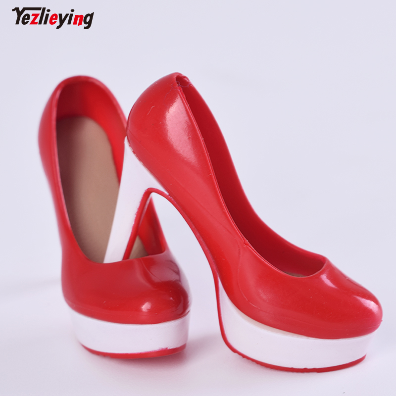2 Pairs 1//6 Scale Stiletto Heeled Shoes for 12 inch Female Figure Clothing