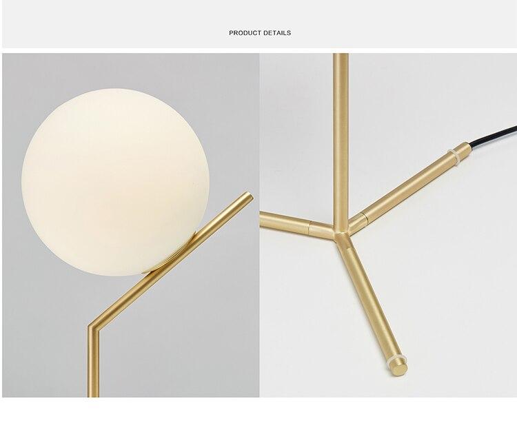 Ditoon glass ball Led Pendant Light (8)