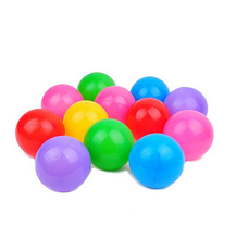 50PC Colorful Ball Soft Plastic Ocean Ball Funny Baby Swim Pit Toy Water Pool Ocean Wave Ball stress air ball outdoor fun sports