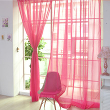 Pure color curtain and knitted curtain for  living room kitchen bedroom