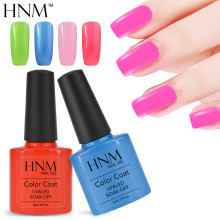 HNM 8ml UV Nail Gel Polish Soak Off Gel Nail Polish 79 Colors Gel Lak Gel Varnishes Vernis Semi Permanent Gelpolish Nagellak