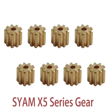10 Pcs Metal Motor Gear Spare Parts For Syma X5 X5C X5SC X5SW RC Quadcopter Drone Accessories