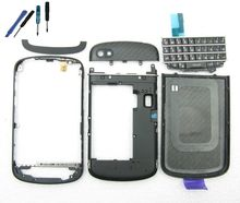 Replacement Full Housing Keypad Cover Frame for Blackberry Q10 Black+tools