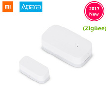 New Updated Xiaomi Aqara Door Window Sensor Zigbee Wireless Connection Smart Mini door sensor Work With Android IOS App control