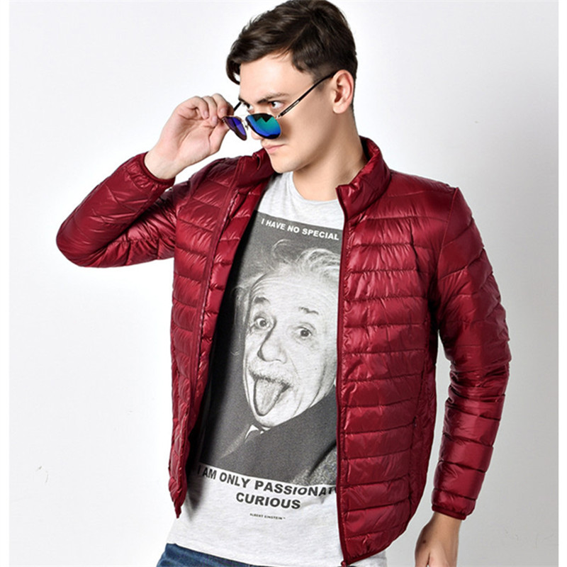 Ultra-thin section down jacket men favors big yards of cultivate ones morality leisure short coat<br>
