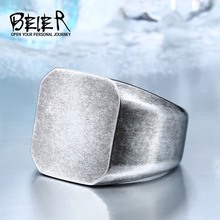 Buy BEIER 2017 old style Fashion Man's 316L Stainless Steel Biker Unique Ring Antique Jewelry BR8-453 for $2.83 in AliExpress store