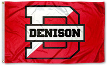 DU Big Red NCAA Flag Tailgating Large Nylon Indoor Outdoor High Quality Football Flag 3X5 Custom flag