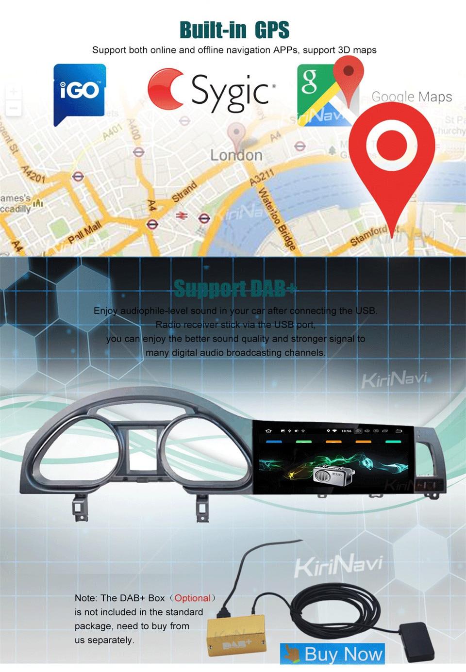 KiriNavi Car Radio For Audi Q7 06-15 (11)