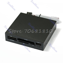 3.5 inch USB Internal MS CF MD SD MMC XD TF Card Reader #R179T#Drop Shipping