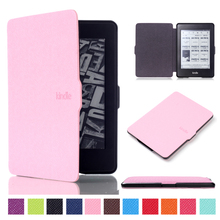 For Amazon Kindle Paperwhite 1 2 3 2013 2015 Tablet e-books Case 6.0 inch Magnetic Slim Leather PU Smart Protective Cover GARUNK