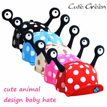 Cotton Baby Summer Hat for Girl And Boy;Ladybug Style Velcro Infant  Mesh Baby Hats;baby baseball cap baby boy caps and hats