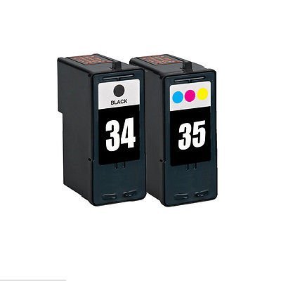 2pcs compatible black color for Lexmark 34 35 ink cartridge for Lexmark P4330 P4350 P6200 P910 X2500 X5070 X5075 X5250 X5270<br><br>Aliexpress