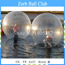 Free Shipping 2PCS 0.8mm TPU Material Human Hamster Ball,Zorb Ball ,Water Walking Ball On Sale(China)