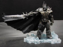 HOT WOW DC7 FALL OF THE LICH KING ARTHAS ACTION FIGURE Model Toy 20CM