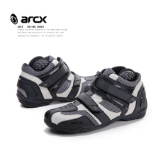 ARCX Protective Gears motorcycle boots men motorboats Moto short boot Breathable motorcycle boots summer motobotinki motorboats(China)