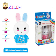 2017 New Exports English Mini Cute Rabbit Infant Aids Early Learning Toys Childhood Story Songs Free Shipping Drop Shipping(China)