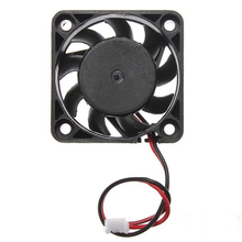 Good Sale 12V 2 Pin 40mm Computer Cooler Small Cooling Fan PC Black F Heat sink ABS Material Mini Fans Free shipping&wholesale
