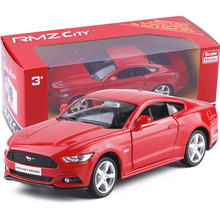 High simulation supercar,1:36 scale alloy pull back Ford Mustang GT cars,Collection metal model toys,free shipping