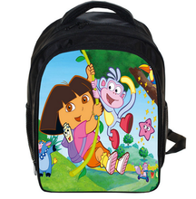 13 Inch Cartoon Cute Dora School Bags for Kindergarten Children kids School Backpack for Girls Children's Backpacks Mochila