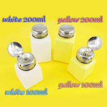 Corrosion resistant plastic bottle Anti Static Empty E-liquid Plastic PE Oil Alcohol Bottle Solder Flux Container Home Storage
