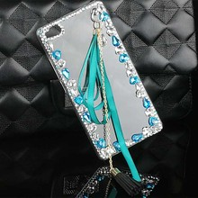 Hot Case for ZTE Axon 7 Blade L2 L3 V6/D6 Nubia Z5S Z7 Z9 Z11 mini S Max N1 Red Bull V5 PC Hard Cover Bling Diamond Tassel Shell